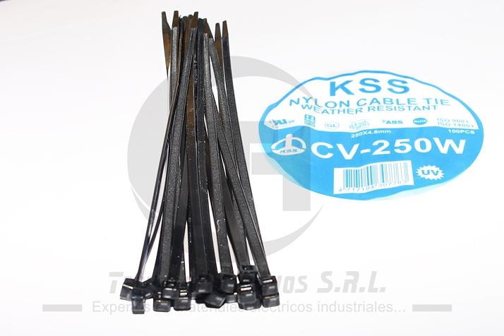 CINTILLO KSS CV-250 W NEGRO