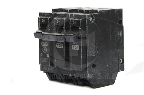 INT. ENGRAMPE GE MODELO THQL 3X40 AMP TRIFASICO