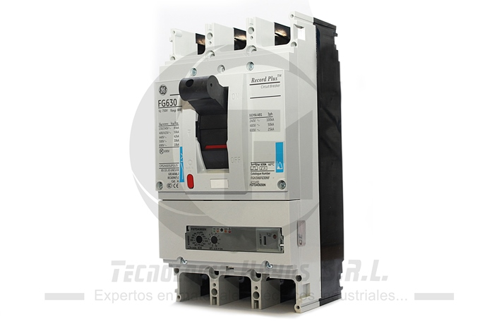 INT. FUERZA REGULABLE GE MODELO FGN 400-630 AMP TRIFASICO